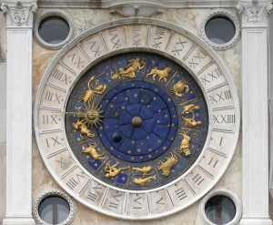 Detail of the Clock