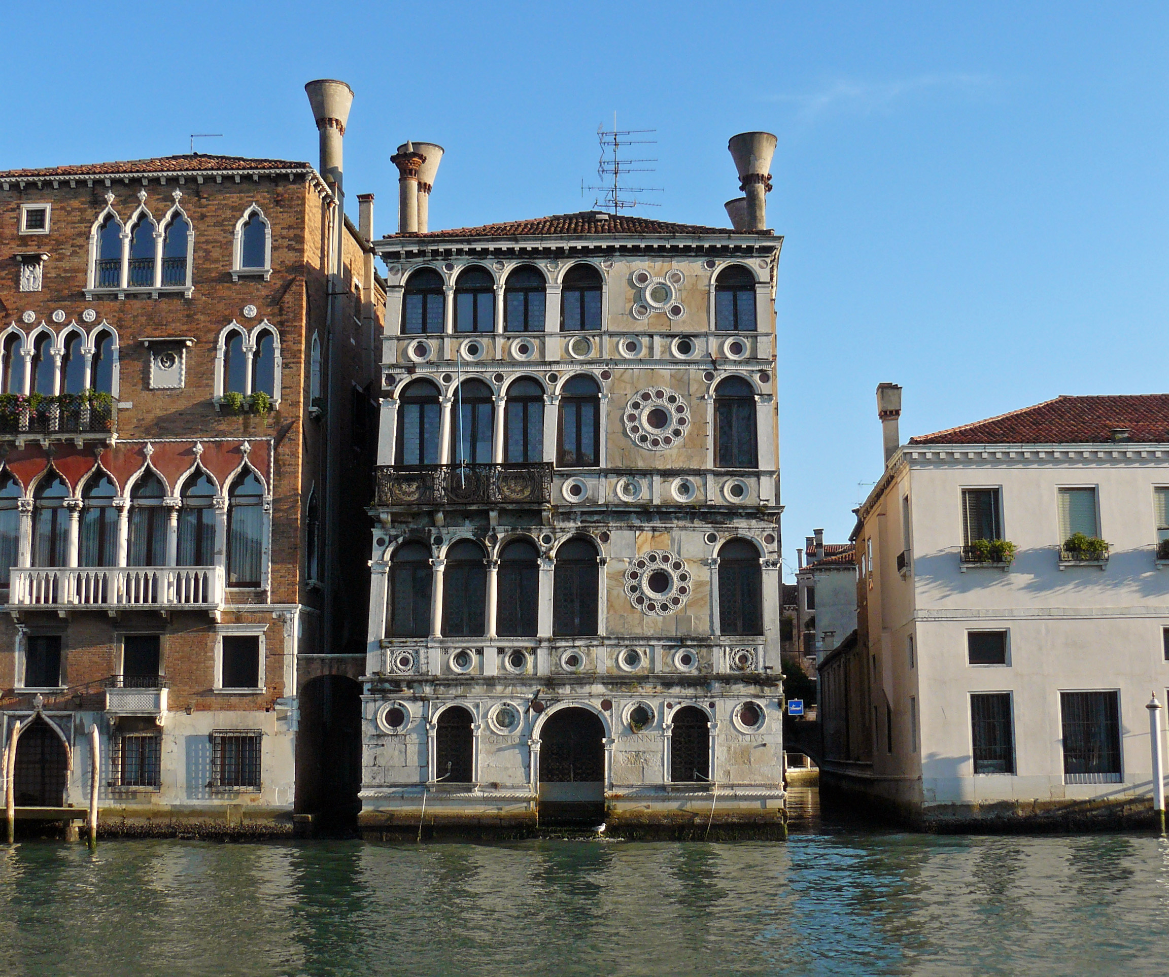 Katie s palaces venice and croatia for Architecture venise